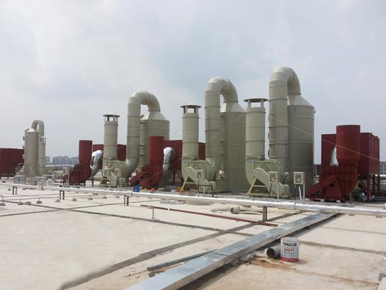 废气处理塔|洗涤塔|鑫蓝科技-服务热线:4008-616-212