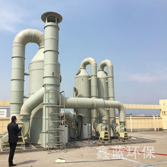 淮安电子厂废气处理工程