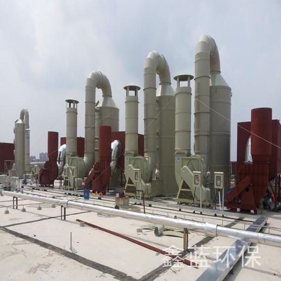 江苏电子厂废气处理工程