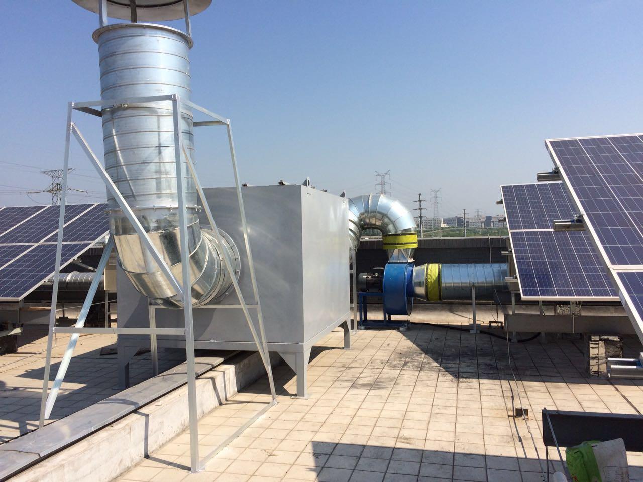 新能源智能化设备废气处理工程