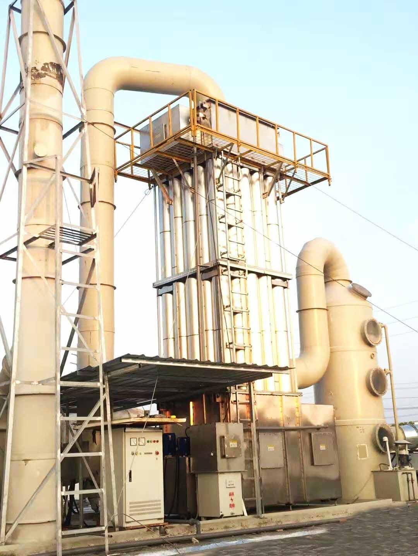 上海塑料橡胶VOCs废气处理工程