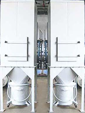 机器人铣刀汽车饰件粉尘处理工程