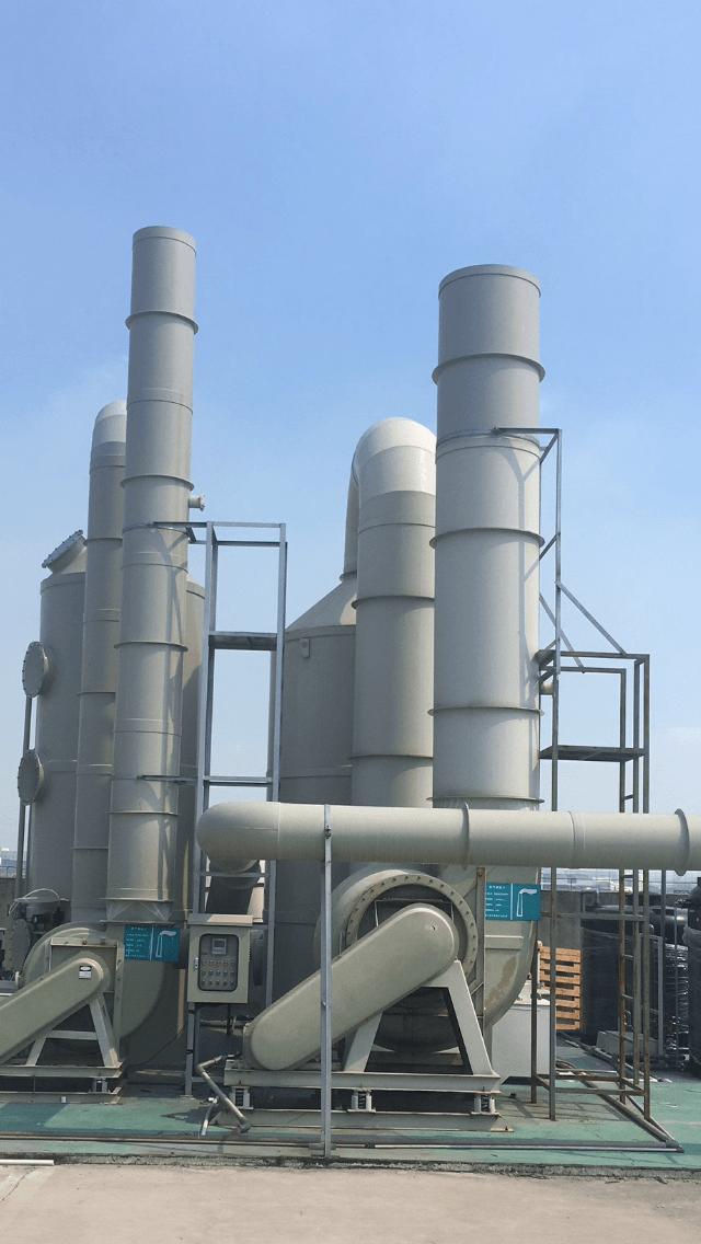 昆山化工废气处理案例