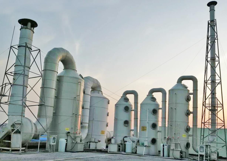 扬州线路板废气处理工程案例