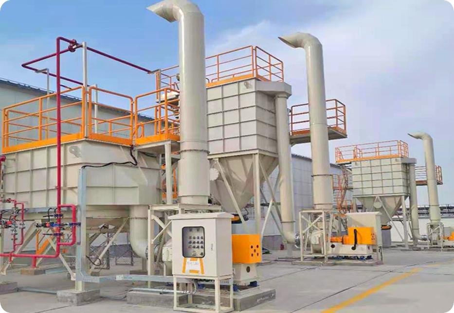 电子厂除尘设备:布袋除尘器