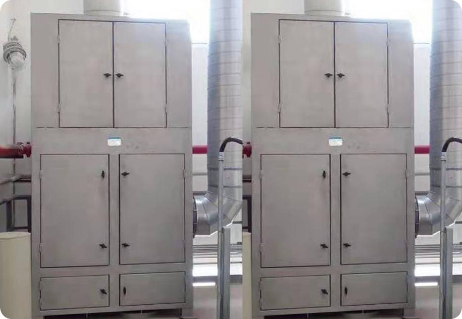 化工厂除尘设备:布袋除尘器
